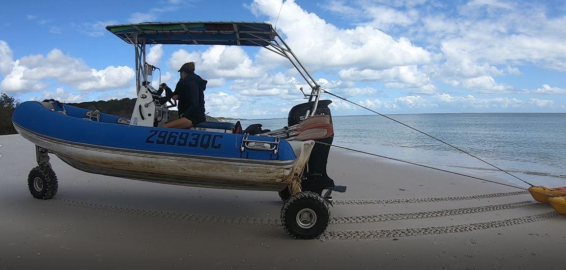Amphibious Vehicle Photo